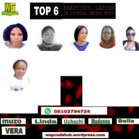Top6. beautiful ladies in Oforola owerri west IMO state Nigeria, list vote