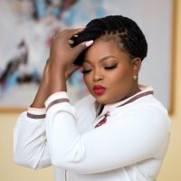 My Woman Crush Forever! – Funke Akindele Crushes On Herself (Photo)